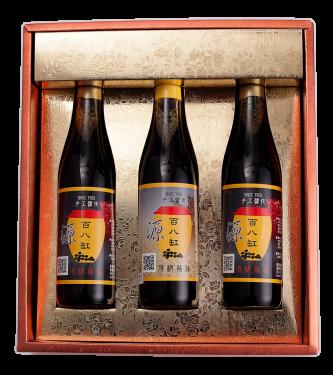 百八缸 2瓶滷香四溢+1瓶沾沾自喜 共三瓶裝精選伴手禮盒