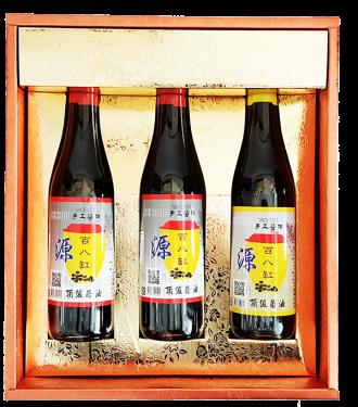 百八缸 2瓶忠於原味+1瓶沾沾自喜 共三瓶裝精選伴手禮